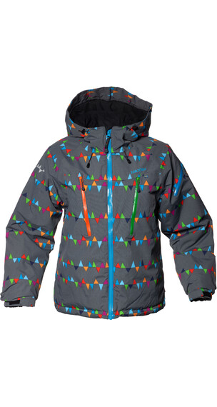 Isbjörn Junior Carving Winter Jacket PeaksGrey